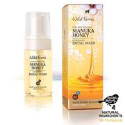 มูสทำความสะอาดผิวหน้า Manuka Honey Refreshing 100ml Wild Ferns