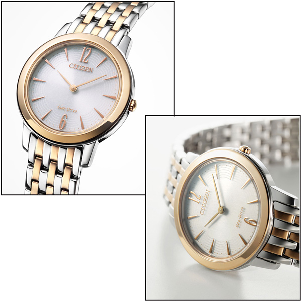 (CITIZEN)CITIZEN Stars Lady Huanian Huaguang kinetic energy female watch EX1496-82A
