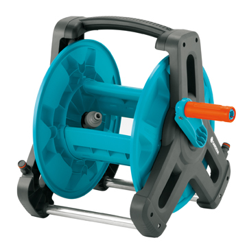 (GARDENA)GARDENA shaft type hose retractor frame 50m