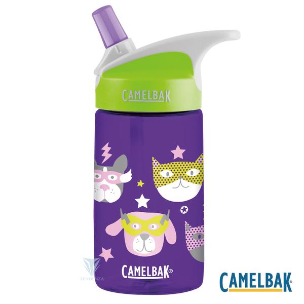 (camelbak)CamelBak CB1274503040 - 400ml Children's Straw Sports Water Bottle Pet Hero