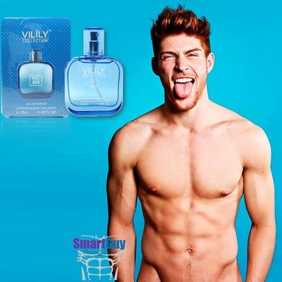 VILILY Collection No.864 Eau De Parfum 25ml. น้ำหอมผู้ชายกลิ่นไฮโซหรูหราสปอร์ตแมนผสานความเซ็กซี่แข็งแรงน่าค้นหาชวนเข้ามาสัมผัสใกล้ๆ