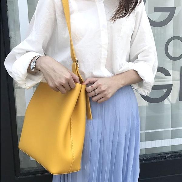 [Abigail] ถุงแม่ถุงอย่างง่าย 6610 (สีเหลือง)