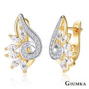 GIUMKA ต่างหูแบบปุ่มง่ายเทพี MF07029