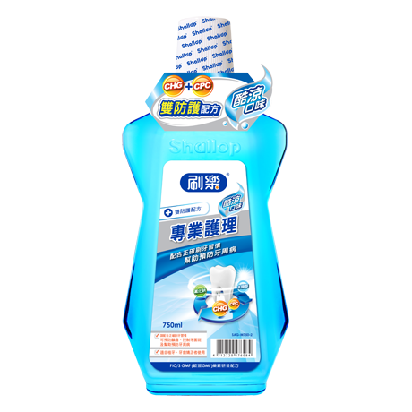 (刷樂)Brush music professional care mouthwash 500ml 2 into (cool taste)