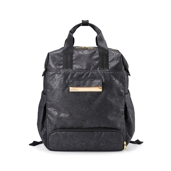 (SATANA)Satana - MammaMia style backpack - black twist camouflage