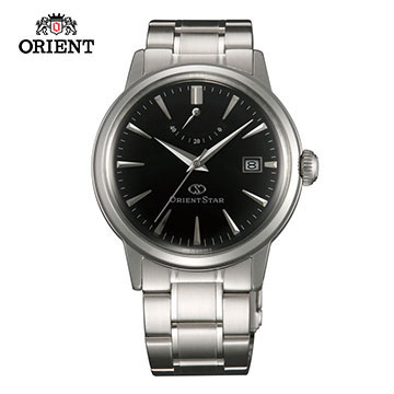 (ORIENT)ORIENT STAR Oriental Star CLASSIC series of classic power storage mechanical watch steel section SEL05002B black -38.5 mm