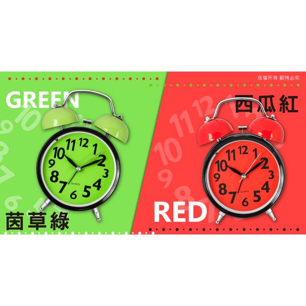 (KINYO)KINYO colorful double bell alarm clock TB705 (red)