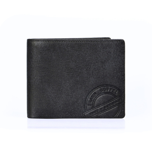 (BRAUN BUFFEL)[BRAUN BUFFEL German Golden Bull] Renault Series 10 Card Wallet (Traveler Black)