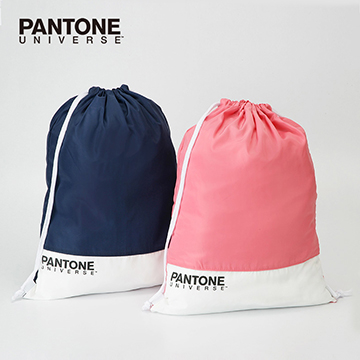 (PANTONE UNIVERSE)PANTONE color ticket bundle back pocket two-piece group (deep sea blue + coral red)