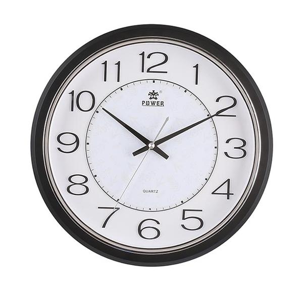 (POWER)[Overlord] high quality sensation rock black IKEA wild mute wall clock -32CM