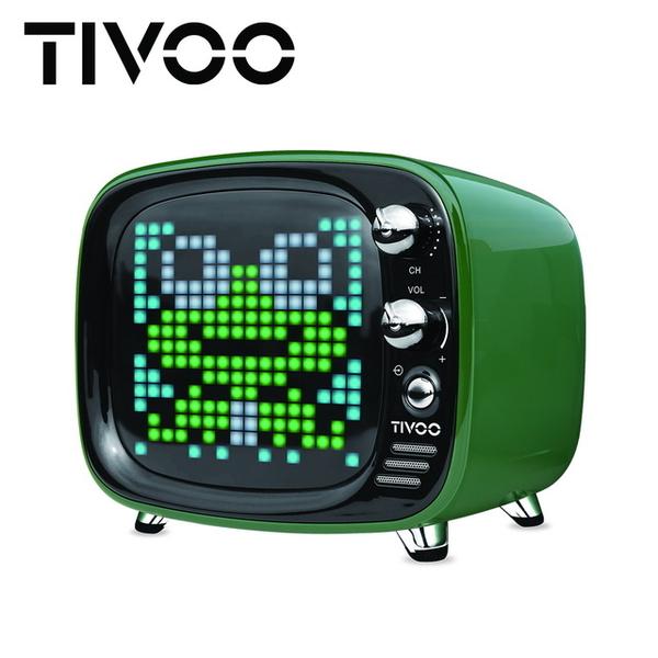(Divoom)[DIVOOM] TIVOO Light Sound Dancing Smart Bluetooth Speaker - British Green