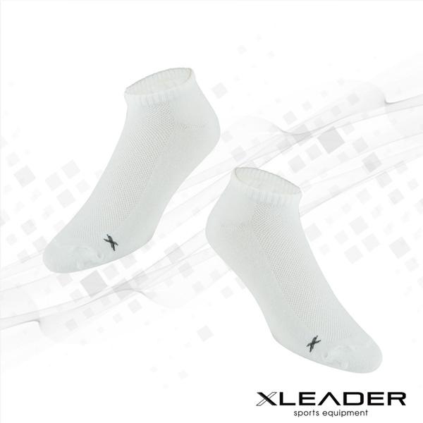 (LEADER)LEADER ST-04 breathable mesh casual sports deodorant socks socks men's white