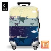 ชุดกระเป๋าเดินทาง LittleChili - Blue Whale XL