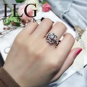 RI172-0.5 แหวนเพชรกะรัตทองคำขาว