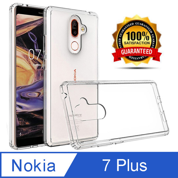 Ultra-efficient and transparent DROP shell for Nokia 7 Plus
