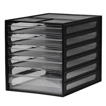 Shude SHUTER desktop file cabinet / DD-1214 / black