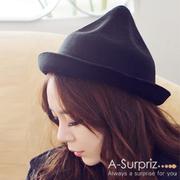หมวกแฟชั่นไอศครีม A-Surpriz (สีดำ)