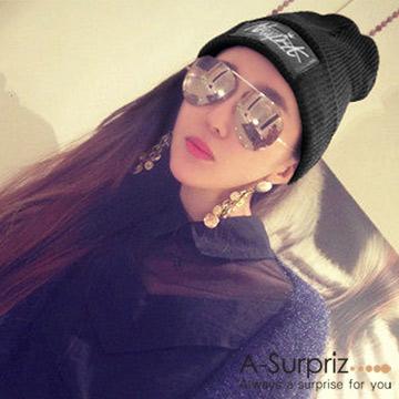 (A-Surpriz )A-Surpriz NEWYORK elegant wool hat (black)