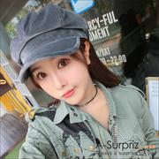 A-Surpriz Han Chao ผ้ากำมะหยี่สีทึบ (สีเทา)