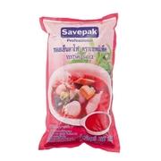 ซอสเย็นตาโฟ ขนาด 1000กรัม/ถุง SAVEPAK Yentafo Sauce