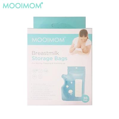 New ถุงตั้งได้สำหรับเก็บน้ำนมแม่ ความจุ 250 มล. (30 ชิ้น)