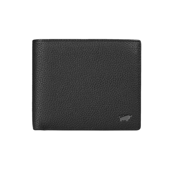 (BRAUN BUFFEL)[BRAUN BUFFEL German Golden Bull] Mick Series 5 Card Transparent Window Wallet (Jazz Black)