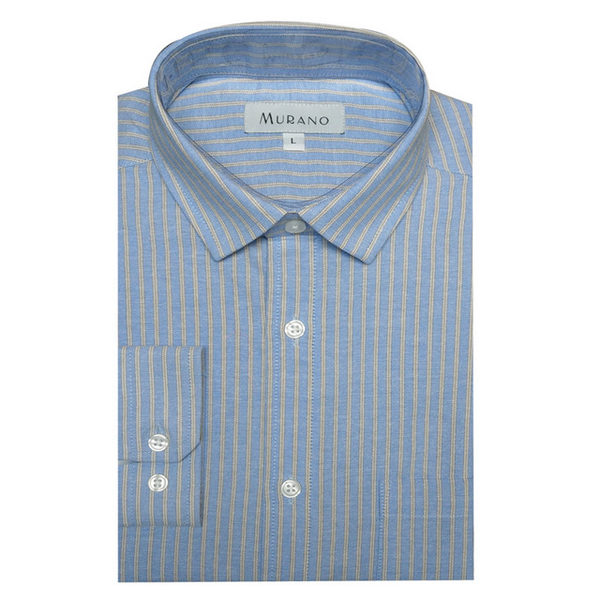 (MURANO)[MURANO] Casual Oxford Long Sleeve Shirt