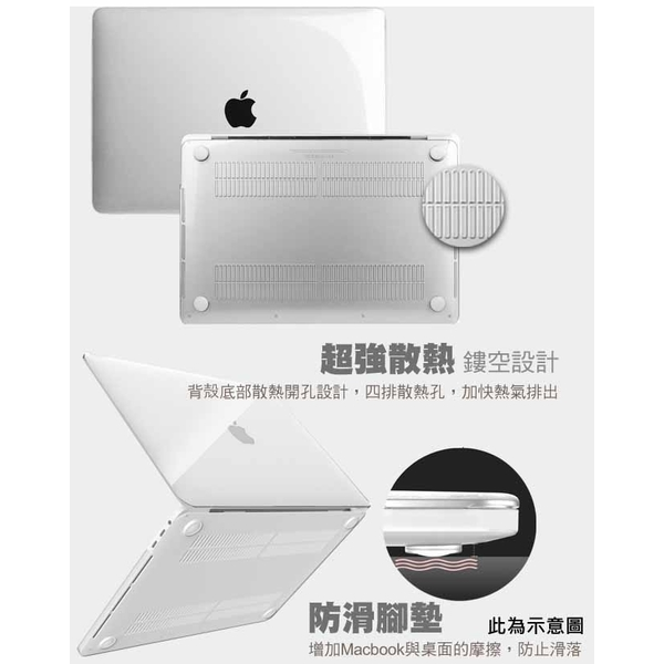 The new MacBook Air 13 inch A1932 thin scratch protective shell frosted