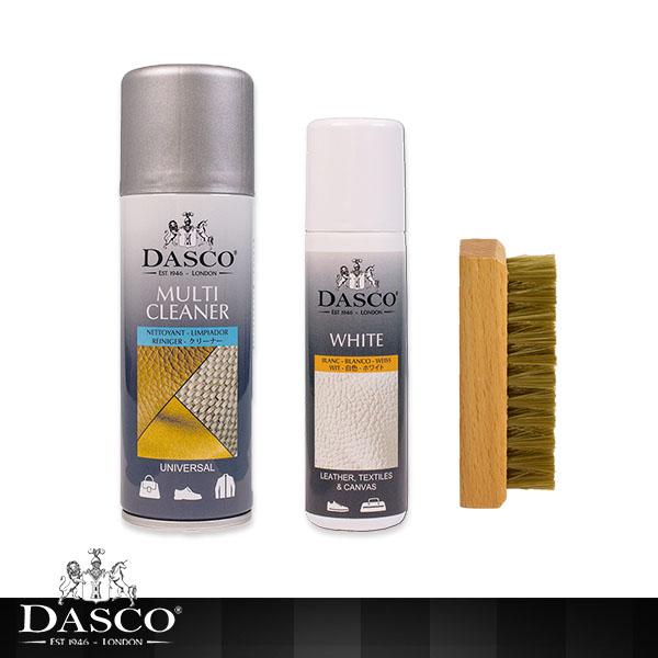 (DASCO)British Earl DASCO White Shoes Clean Rebirth Group
