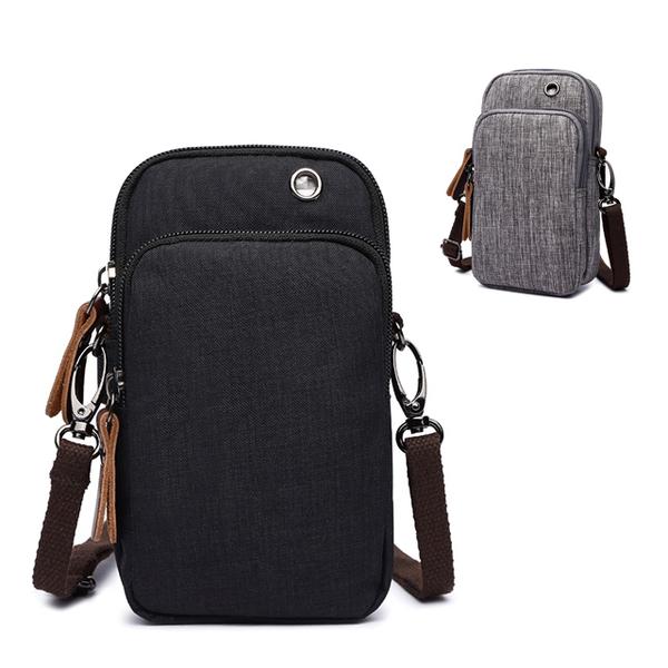 (CAMO)[品?. CAMO] Korean portable fashion casual side backpack mobile phone arm bag