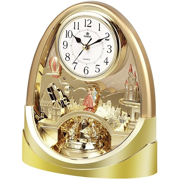 (POWER)[Overlord] European court design gorgeous home decoration music clock
