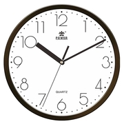 (POWER)[Overlord] simple classic design Yao Yan black home office must mute wall clock -25CM