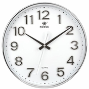 (POWER)[Overlord] high quality metal stereo digital living room study must have silent wall clock -34CM