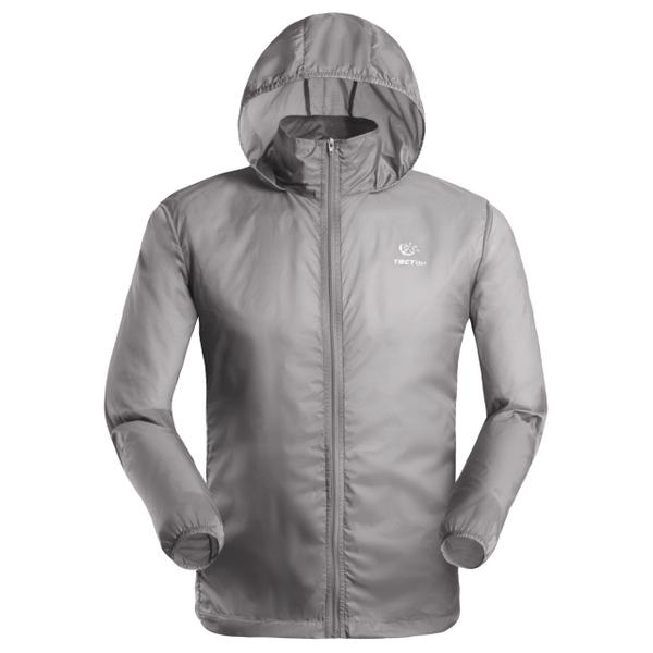 (Tectop)Tectop explores outdoor [JL3009 men's thin coat] light gray