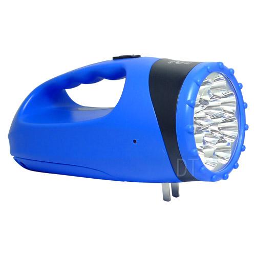 (晶冠)Crystal Crown rechargeable searchlight + 18LED lamp brightness 6W JG-FR680