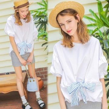 [South Korea] KN945 K.W. modern fashion han blouse - black