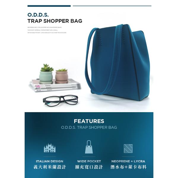 (TUCANO)TUCANO ODDS Diving Cloth Waterproof Side Backpack - Black