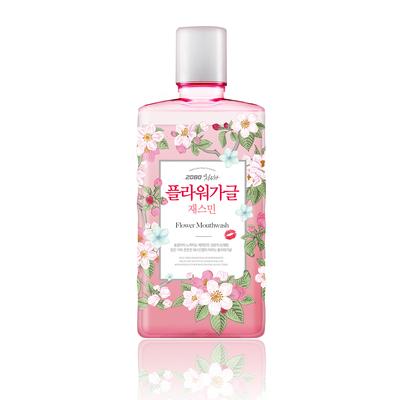 [เกาหลี 2080] น้ำยาบ้วนปากดอกไม้ 750 มล. x5