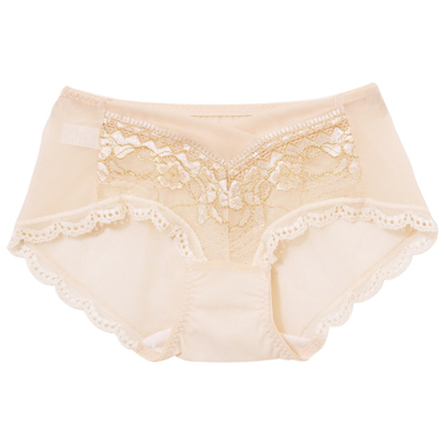 Petunia [Ti] Jin Shaping dimensional pants with port (Champagne white -M)