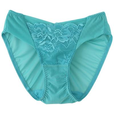 (WETINIA)Nia】 【dimensional Ti Yu Shi Zen triangle with pants (green lake-XL)