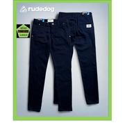 Rudedog กางเกงขายาวชาย ขาปล่อย ทรงเดฟยืด รุ่น work a day สีกรม