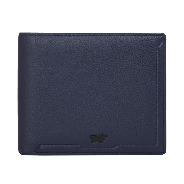 (BRAUN BUFFEL)BRAUN BUFFEL Jimmy Series 10 Card Holder - Blue BF315-314-OC