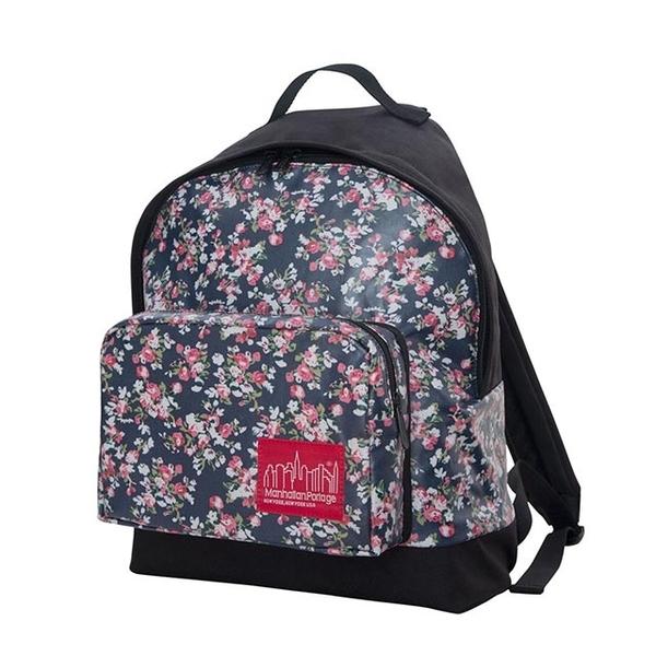 (Manhattan Portage)1209 Floral Big Apple Backpack (M)