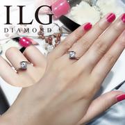 RI159-ILG Diamond, แหวนพลอยลอย 0.75 กะรัต, เทคโนโลยีชั้นสูง - สร้าง - เพชร