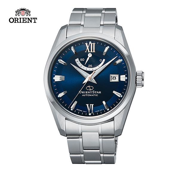 (ORIENT)ORIENT STAR Oriental Star CLASSIC Series Classic Power Storage Mechanical Watch Steel with Blue RE-AU0005L-39.3mm