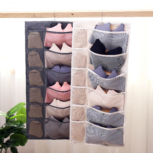 Wardrobe double-sided storage hanging bag close-fitting clothing storage bag breathable moisture-proof anti-odor