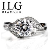 RI030-ILG Diamond, Luxury Party Ring 1.25ct., เทคโนโลยีชั้นสูง - สร้าง - Diamond