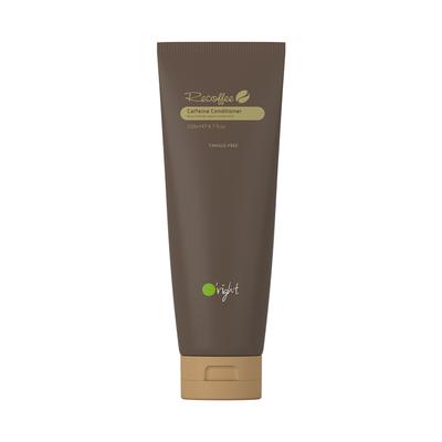 Oright- CAFFEINE CONDITIONER 250 มล. สำหรับทุกสภาพเส้นผมน้ำมันกาแฟธรรมชาติสารสกัดคาเฟอีนธรรมชาติโปรตีนข้าวสาลีไฮโดรไลซ์คาโนล่าออยล์มอบการบำรุงลึกภายในเส้นผมทำให้เส้นผมแข็งแรงและมีสุขภาพดี health ทำให้ผมยุ่งเหยิง