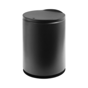 TRENY ถังขยะแบบกลมญี่ปุ่น - สีดำ