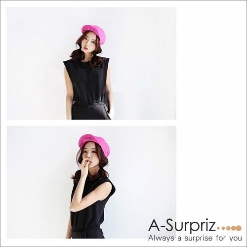 (A-Surpriz)A-Surpriz influx of people NEW YORK reflexed cap (peach)